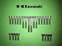 KAWASAKI GPZ 750 R R1 1982-1987 Crankcase stainless allen screw kit #3 GPZ750R