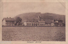 AK Voldagsen. Bahnhof/ Einbeck, gel. nach Norden Ostfr. Stempel Hameln 1919