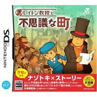 USED Nintendo DS Professor Layton and the Curious Village