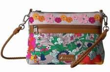 NWT Sakroots Campus Mini 4 way Lilac Flower Power Crossbody Shoulder Bag Wristle