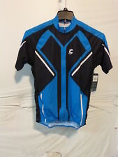 Cannondale Men's Performance 2 Cycling Jersey, Blue/Black Size Medium NEW $80
