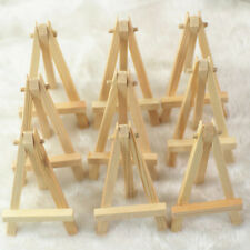 Set OF 10  Display Stand Easel Plate Holder Picture Photo Art Plastic Practical