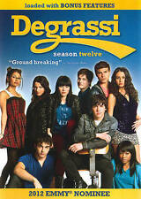 Degrassi: The Next Generation - Season 12 (DVD, 2013, 3-Disc Set) NEW