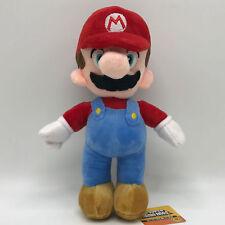 "Super Mario Bros. Plush Character Soft Toy Mario Stuffed Animal Doll Teddy 10"""