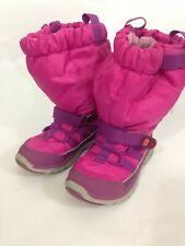 Stride Rite Made to Play Pink Winter Boots Preschool 10.5