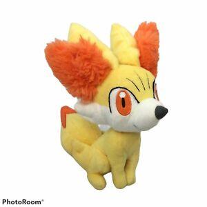 Pokemon Tomy Fennekin Plush Toy Fox Yellow Orange Stuffed Animal