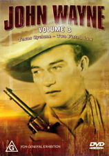 John Wayne TEXAS CYCLONE & TWO FISTED LAW - 2 MOVIES DOUBLE FEATURE WESTERN DVD