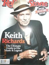 KEITH RICHARDS rolling stone COLLECTORS EDITION ultimate guide to music & legend
