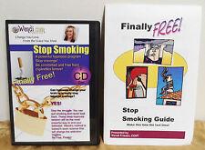 Wendi Friesen Audio CD Book STOP SMOKING Hypnosis Meditation Year 2012 EUC