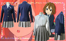 K-on Hirasawa Yui Uniform Cosplay Costume