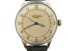Le Coultre vacheron vintage 1940's men's watch, military dial