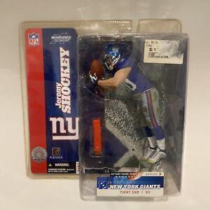 New York Giants Action Figure, Jeremy  Shockey--Unopened