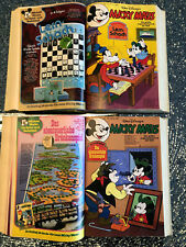 Micky Maus 1-53 aus 1981 komplett - 2 Bücher