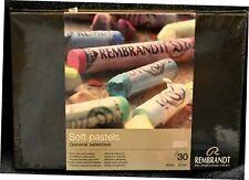 Rembrandt Soft Pastels Set of 30 Full Sticks General Selection Colors
