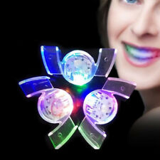Flash LED Mouth Braces Light Up Glow Teeth Halloween Party Funny Toy Rave Event
