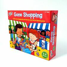 Gone Shopping Galt Pre School Early Learning Memory Game for Age 3-7 Years