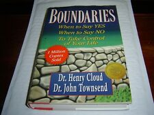 """""""VG COND"""" BOUNDARIES When to Say YES When to Say NO by CLOUD & TOWNSEND HARDCOVE"""