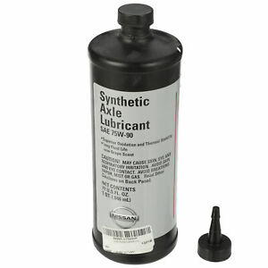 OEM All Nissan Models Requiring Synthetic 75W90 Gear Oil NEW 999MPG-75W90P