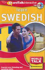 Learn to Speak Talk Understand SWEDISH Language PC includes 10 Language Games