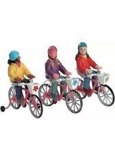Lemax Holiday Village Bike Ride -3 Piece Set-Village /Train