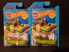 HOT WHEELS SIMPSONS CANOPY VARIATION 2014 ISSUE