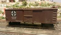 Roundhouse MDC HO Old Time 36' Boxcar, Santa Fe, Weathered Upgraded, Exc.
