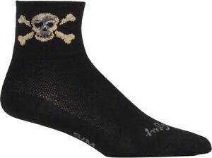 New SockGuy Pirate Sock: Black LG/XL
