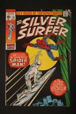 Silver Surfer #14 - NM 9.0 - Spider-Man Crossover!