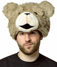 Ted The Movie Teddy Bear Plush Adult Hat Headpiece Halloween Rasta Imposta