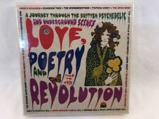 LOVE POETRY & REVOLUTION Grapefruit 3 CD Box Psychedelic Underground - SEALED -