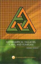 MATHEMATICAL FALLACIES FLAWS AND FLIMFLAM SPECTRUM By Barbeau Edward J BRAND NEW