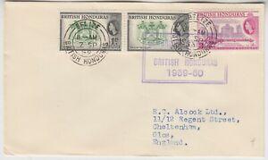 BRITISH HONDURAS 1959 CAMBRIDGE EXPEDITION to BRITISH HONDURAS official cover