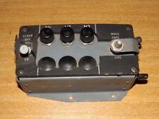 Post WW2 RAF 70s ? Emergency Flares Control Fuse Box Aircraft Cockpit Instrument