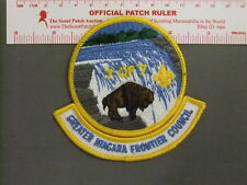 Boy Scout Greater Niagara Frontier Council Patch CP 9176EE