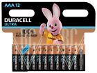Duracell Ultra Batterie AAA Micro LR03 MX2400, 12er Pack