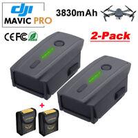 2 Pack 3830mAh LiPo Intelligent Flight Batteries For DJI Mavic Pro & Platinum US