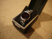 Pulsar Stainless Time Computer LED Digital Watch P4 BigTime