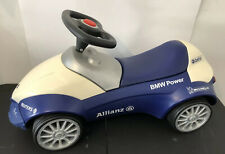 🟦 Genuine BMW Baby Racer Blue/White Ride-On Push Car * Made in Germany * Heavy