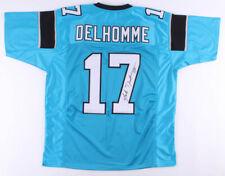 Jake Delhomme Signed Panthers Jersey (JSA COA) Carolina Starting Q.B.(2003–2009)