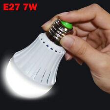 Hot Energy Saving Intelligent Emergency Bulb Light Rechargeable LED Lamps E27 7W