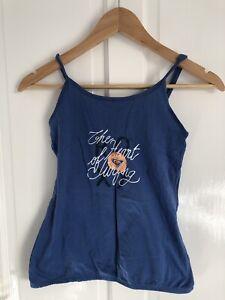 Roxy Size 12 Blue Vest Top