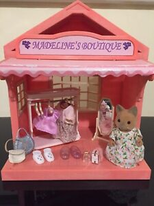 Sylvanian Families Madelines Boutique With Figure & Accessories