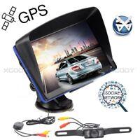 "XGODY 7"" 886 Truck Car HGV GPS SAT Navigation Unit Wireless Reversing Camera"