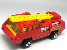 Matchbox Lesney Superfast No 22 Blaze Buster Fire Truck - MINT