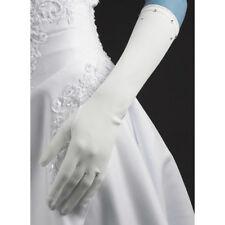 Gants mi long cascade en satin mat ivoire belle qualité cérémonie mariage  soirée 33059d2444ba