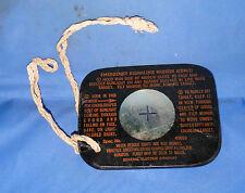 WWII US Army AAF Pilot Flight Survival ESM/1 Emergency Signal Mirror