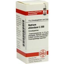 NATRIUM CHLORATUM C 200 Globuli 10g PZN 2890216