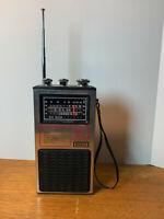 VINTAGE STEWART Executive Radio Multiband TV Sound Model ST-527 AM/FM Radio 9V