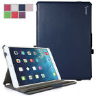 For Apple iPad Air (5th Generation iPad) PU Leather Slim-Fit Multi-Stand Case