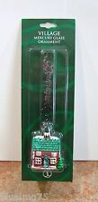 Dept 56 Village Mercury Glass Ornament House #52923 NEW IN PACKAGE (DO3)